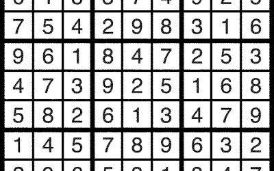 Sudoku Solution Feb. 24