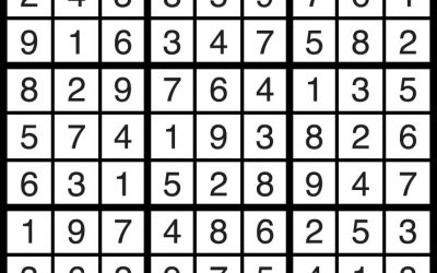 Sudoku Solution – March 16