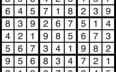 Sudoku Solution – March 23