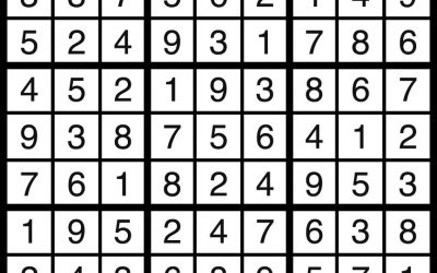 Sudoku Solution – March 9