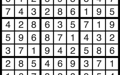 Sudoku Solution April 13