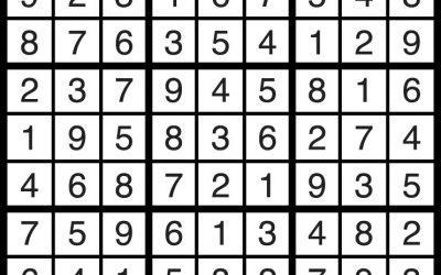 Sudoku Solution – June 29
