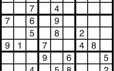 Sudoku, July 27 2020