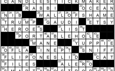 """Let's Talk"" | Crossword Solution"