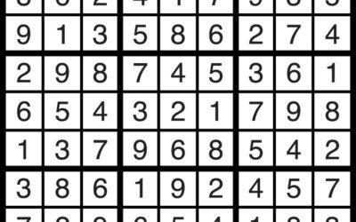 Sudoku Solution | Nov 16