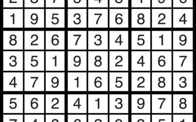 Sudoku Solution | Dec 7