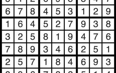 Sudoku Dec 21 | Solution