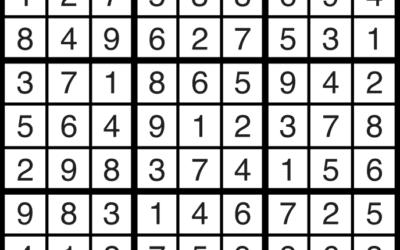 Sudoku Jan 25 | Solution