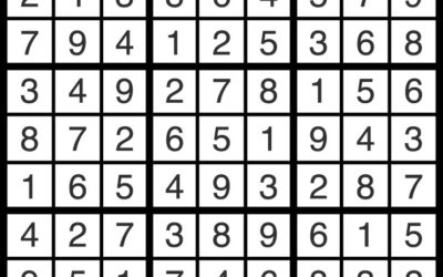 Sudoku Jan 11 | Solution