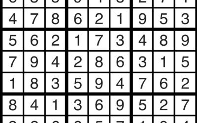 Sudoku Solutions | Feb 22