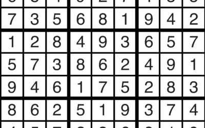 Sudoku Solutions | March 22, 2021