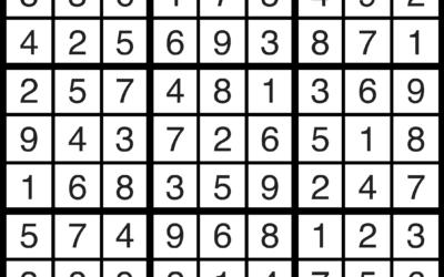 Sudoku Solution | April 5