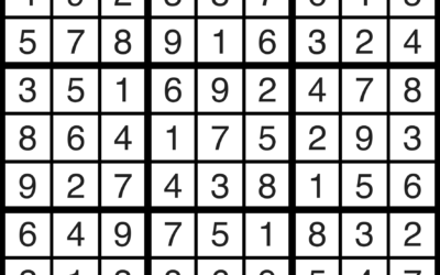 Sudoku | May 31 Solution