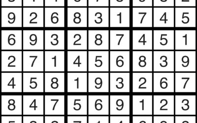 Sudoku | June 28 Solution
