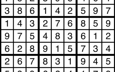 Sudoku | July 12 Solution