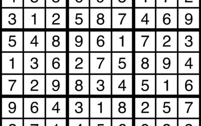 Sudoku | July 26 Solution