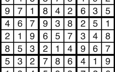 Sudoku   October 4 Solution